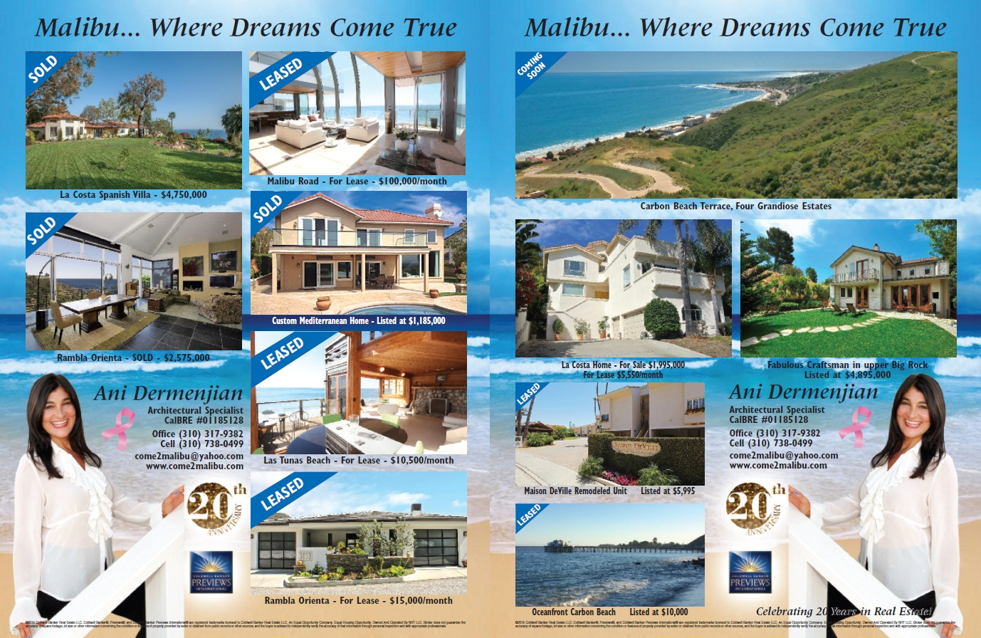 Homes & Lands Ad (October 2014) Page 1 & 2