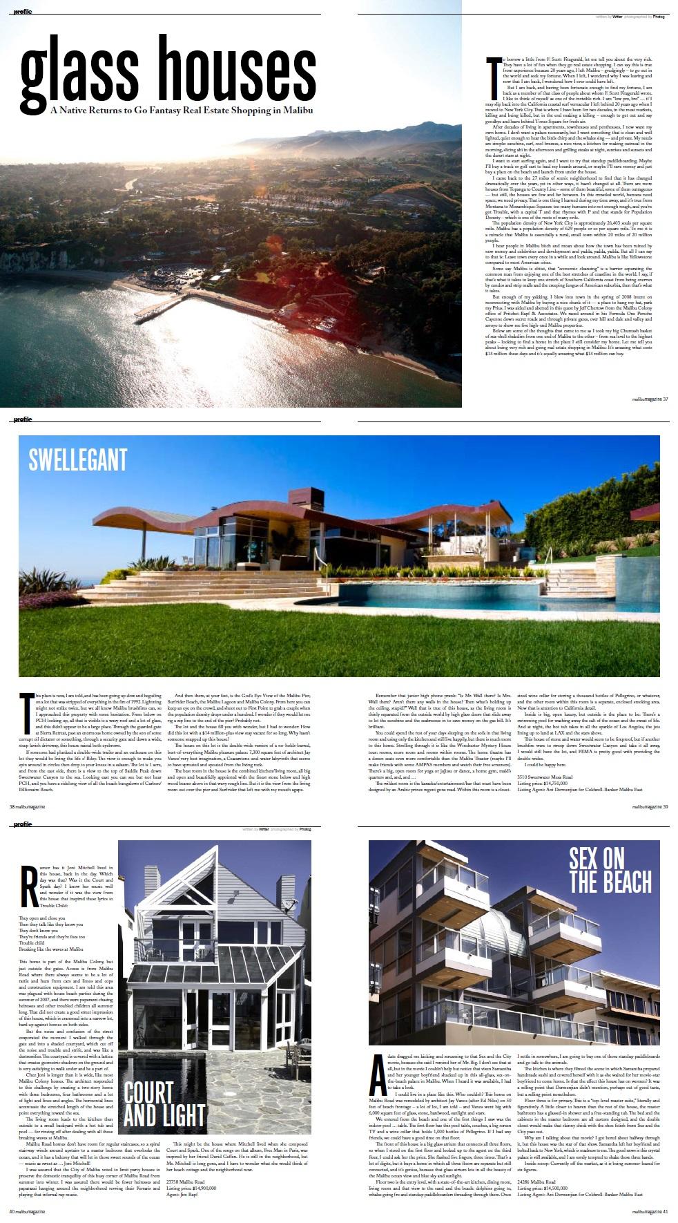 Malibu Magazine - July 2008