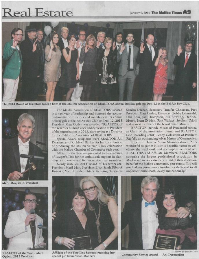 Malibu Times - January 2014